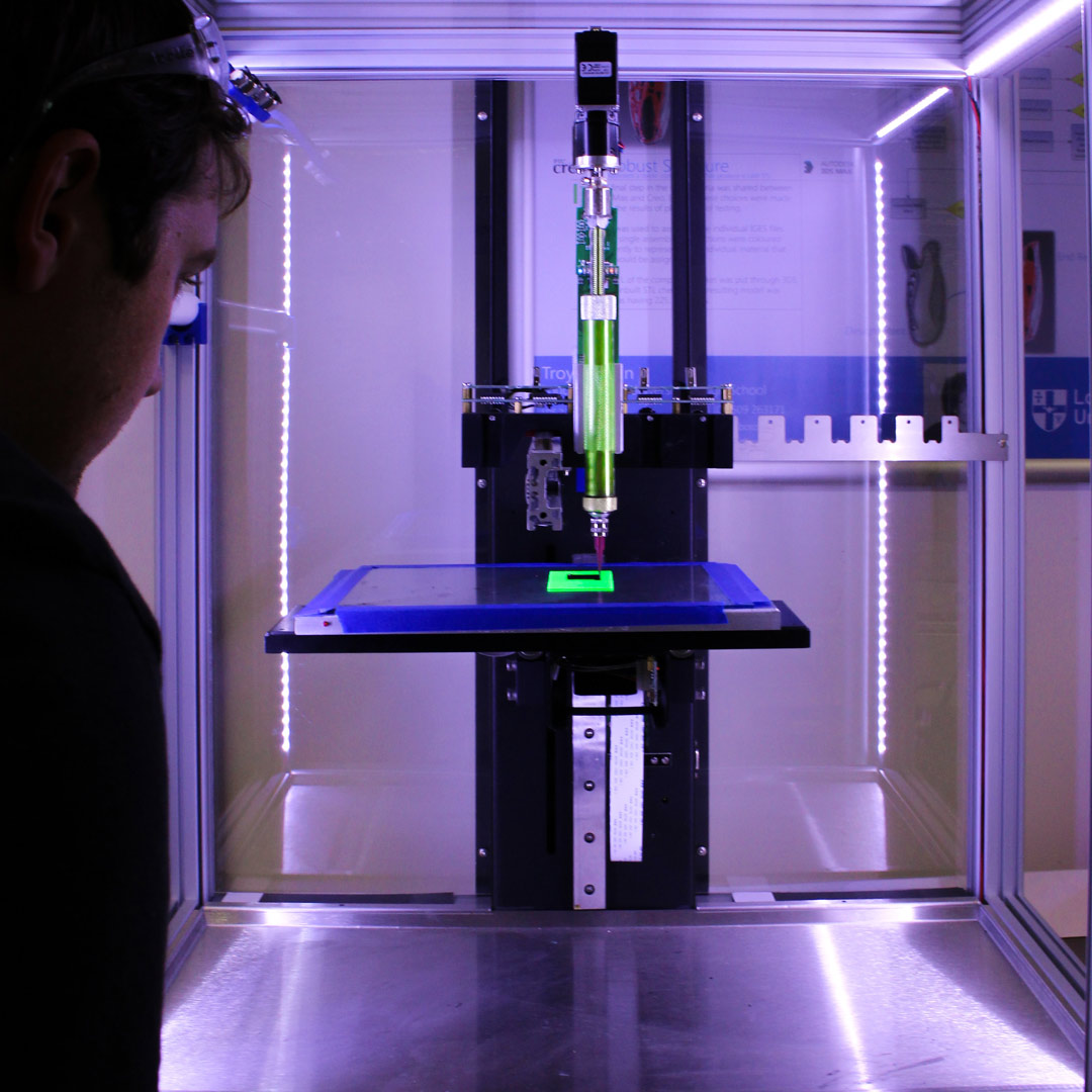 Photo of additive manufacturing