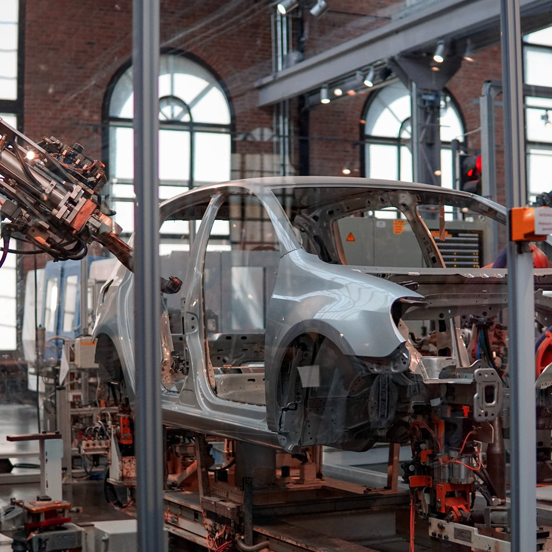 Photo of auto manufacturing