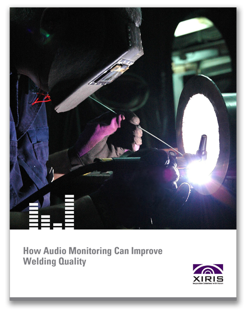 Cover image of Xiris Audio Monitoring White Paper