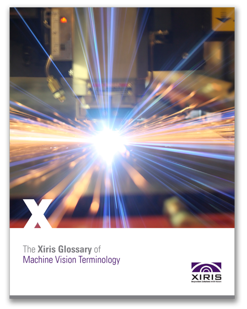 Cover image of Xiris Glossary of Machine Vision Terminology White Paper
