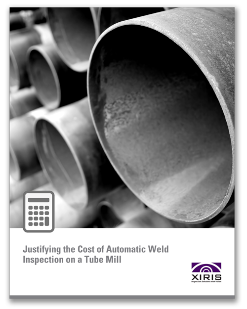 Cover image of Xiris Justifying the Cost of Automatic Weld Inspection on a Tube Mill White Paper
