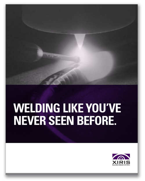 Cover image of Xiris Welding Like You've Never Seen it Before White Paper